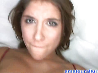 Gorgeous dark brown beauty has a astounding booty and some serious rod sucking skills. That Playgirl acquires her shaved impure cleft pounded while her big tits are bouncing. Then she takes both hands and jerks off Ray's big weenie