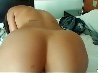 Girl with great forms of body is fond of banging in advance of cam