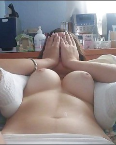 Blonde diminutive girl cutie sucking and fucking a massive cock