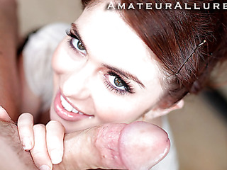 Miley is 18 years old, very cute and this babe has returned for her first cum facial ever! This is the second time Miley has visted AmateurAllure.com, and I am going receive my shot at her this time. That Babe has an amazing, taut body and gorgeous face, and she truly can't live out of engulfing dick. After she blows me for a during the time that, I bent her over and screwed her taut little fur pie. This Babe is a fun little spinner. After a lot of fucking I shot a massive load all over her face.