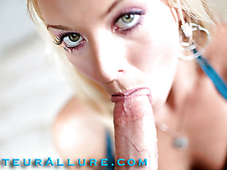 Shay likes to give head and that chick shows just how much when this chick bobs and mouths a large jock aggressively during the time that rubbing her shaved slit then this chick gets screwed real hard solely to have a massive load of cum discharged into her awaiting mouth.