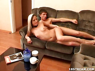 Tonight, the camera fund Bella and Pawel in the baths. This Babe`s a very bawdy 18 year old, but this babe`s not getting clear here. Instead, we must watch as this teen acts like a bawdy wench sucking and fucking until this chab cums.