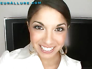 Madaline is twenty years old, and currently enrolled as nursing student at a nearby community college. This is her 1st time having sex on camera. I had her blow me and I face fucked her silly. Then I slid my hard dong into her taut wet twat and fucked her hard. Then I discharged my load in her throat and that honey drank it down.
