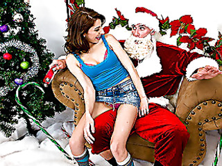 `Santa Sins is working at the mall when along comes a wicked little doxy by the name of Lexi Bloom. When this babe tells Santa that all this babe wants for christmas is something that starts with `C` and rhymes with `Rock,` well needless to say, Santa's north pole stands at full attention. When the mall closes, Santa and Lexi meet up for a little rendez-vous on Santa's sleigh where Lexi's about to get a White Christmas... all over her face!`