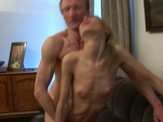 Playgirl is having wild trio with stud and old teacher
