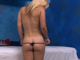 Sexy hawt honey bonks and sucks her massage therapist