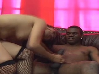 Pretty wench is fucked in backdoor after giving fine blow