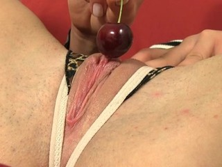 Honey is experiencing heavenly pleasures with marital-device play