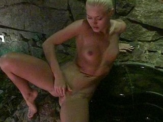 What do u think is the superlatively good way of relaxation and enjoyment at the same time? Right u are, it's sauna! I and my GF are in the sauna this day! Wow, that's what I call a hot pastime! Anything starts when my hot girlfriend dances in her tiny bikini not fast losing it off and demonstrating the cute amateur whoppers and amateur snatch. Then Melena spreads legs and masturbates nub enjoying my dick get harder. Our hot amateur pair forgets about everything when my honey fucks the biggest amateur dick in various positions during the time that the naughty and hot pair sex!
