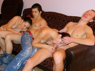 These filthy and messy-minded youthful student gals and guys know the majority excellent way to relax after classes!